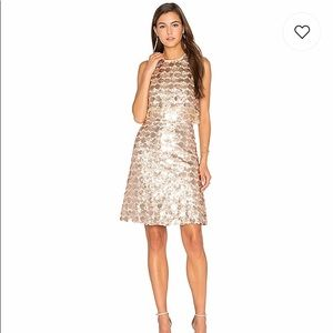 Lumiere champagne light dress